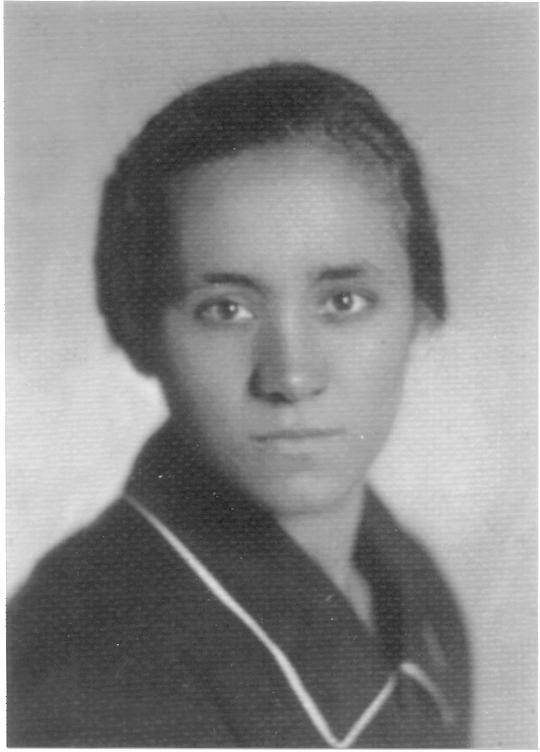 A young Mother Teresa