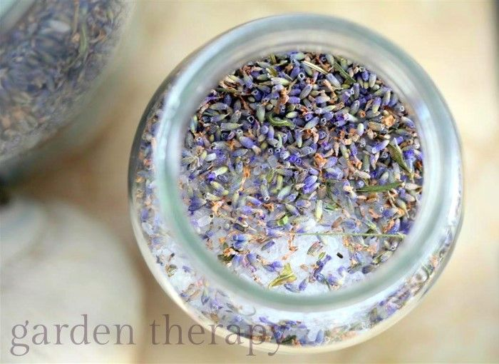 Making fragrant jars of this homemade bath salts recipe couldn't be easier. In vintage mason jars, bath salts look beautiful on display and make nice gifts.