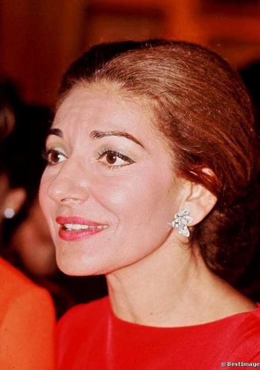 Maria Callas - lovely closeup