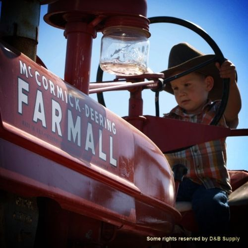 Farmall..hope to do this one day with my little one