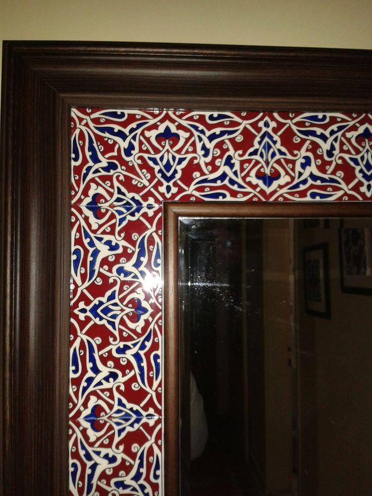 my mirror detail.handmade by Meral Çetin