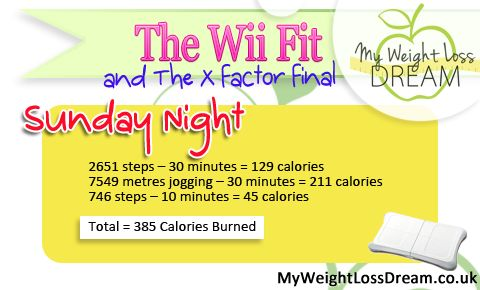 It is the results show of the Xfactor and of Strictly Come Dancing.   #wiifit #wii #wiifitchallenge #weightloss http://myweightlossdream.co.uk/theweightlossshop/the-wii-fit-challenge-and-the-xfactor-2013-final/