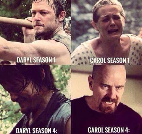 Walking Dead Meme Season 4 Carol Daryl | Carol |...