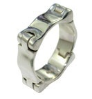 Sterling Jointed Ring