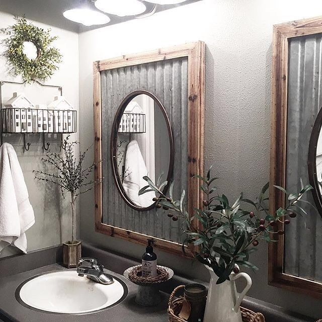 Are You Searching For Best Bathroom Mirror Ideas This Beautiful Bathroom Mirror Ideas A Farmhouse Bathroom Mirrors Stunning Bathrooms Bathroom Mirror Makeover