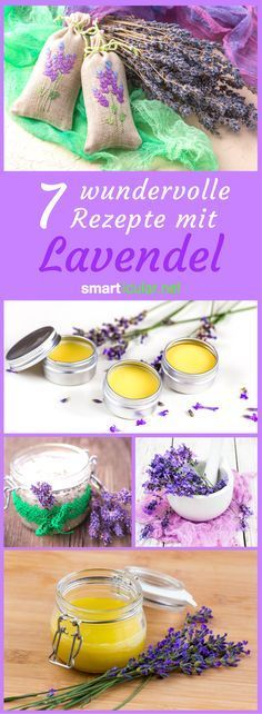 7 lavender recipes to preserve the flowers for the whole year- 7 Lavendel-Rezept…