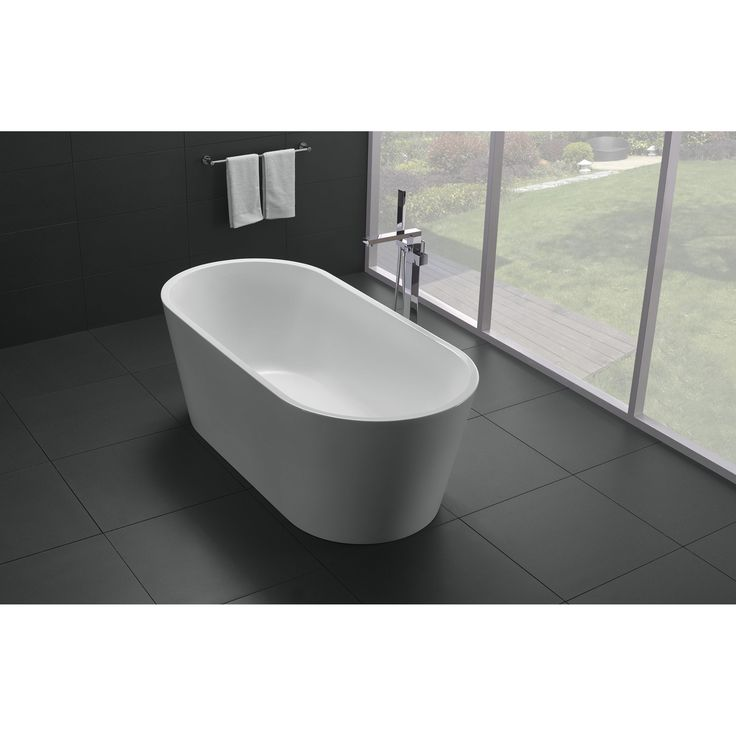 """BATHTUB DIMENSIONS: 59.68"""" Lenght X 30"""" Depth X 24"""" HeightDrain is Included"""