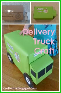 Craftulate: Delivery Truck Craft