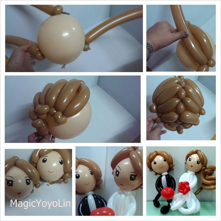 click the picture for great balloon twisting tutorials