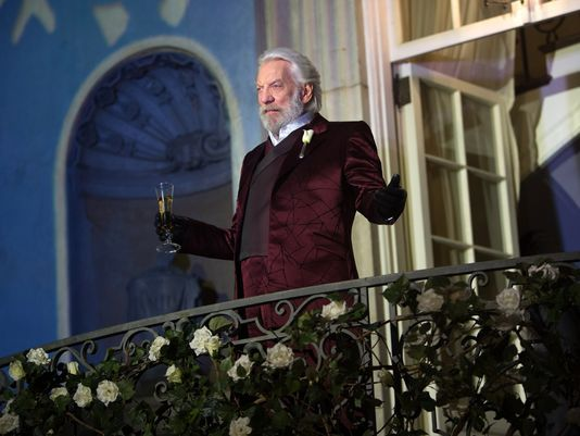 """This beautiful historic home is featured in """"The Hunger Games: Catching Fire"""" as the filming location for the mansion of President Coriolanus Snow, played by veteran actor Donald Sutherland."""