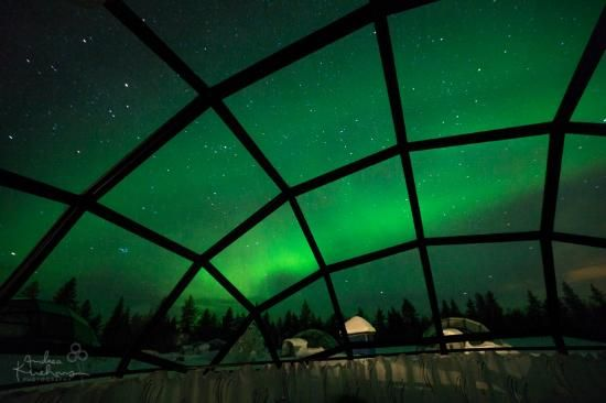 10 stunning hotel views that'll make your jaw drop Kakslauttanen Arctic Resort Saariselka, Finland