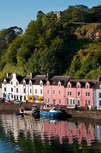 Portree harbour; Isle of Skye, Scotland.