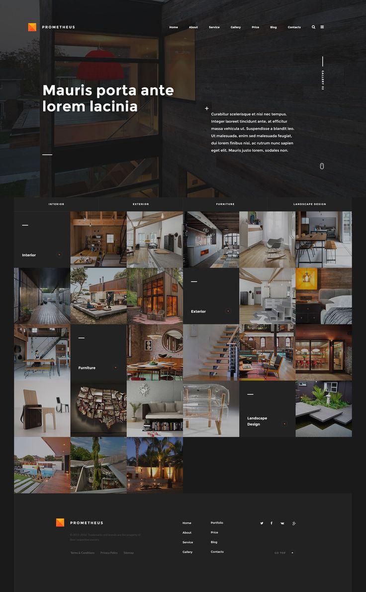 Prometheus Homepage 3 by Siteoutsite