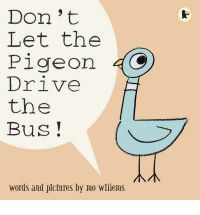 "When the driver leaves the bus temporarily, he gives the reader just one instruction: ""Don't let the pigeon drive the bus!"" But, boy, that pigeon tries every trick in the book to get in that driving seat: he whines, wheedles, fibs and flatters. Will you let him drive? Told entirely in speech bubbles, this is a brilliantly original book."
