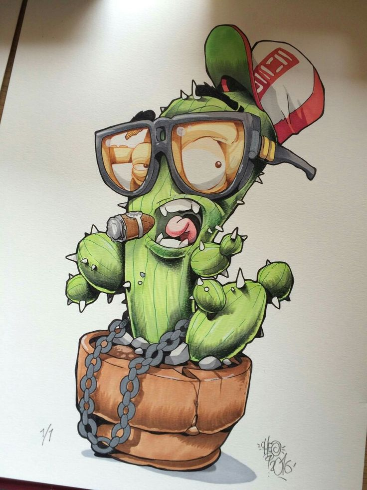 Ms de 25 ideas increbles sobre Dibujo de cactus en Pinterest