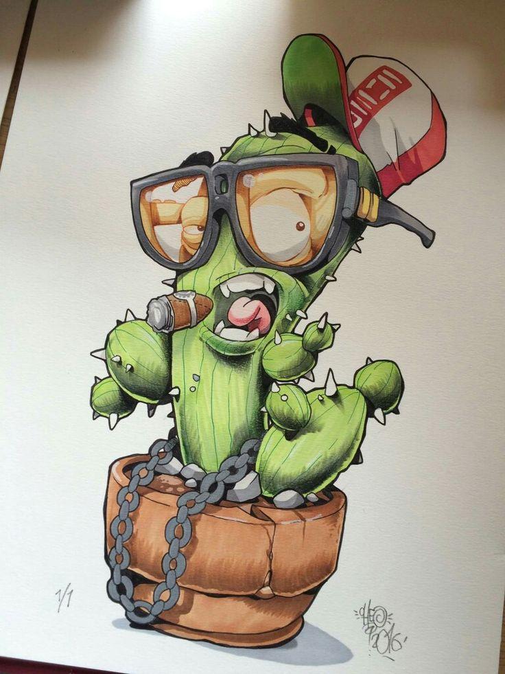 Dibujo de cactus