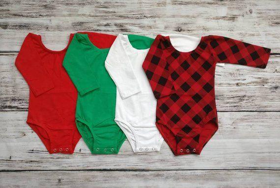 154bd4755d76 Christmas Leotards Long Sleeves Leotard Baby Leotards