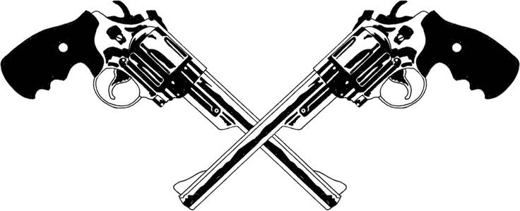 crossed pistols | guns | Pinterest | Pistols, Ideas and Tat