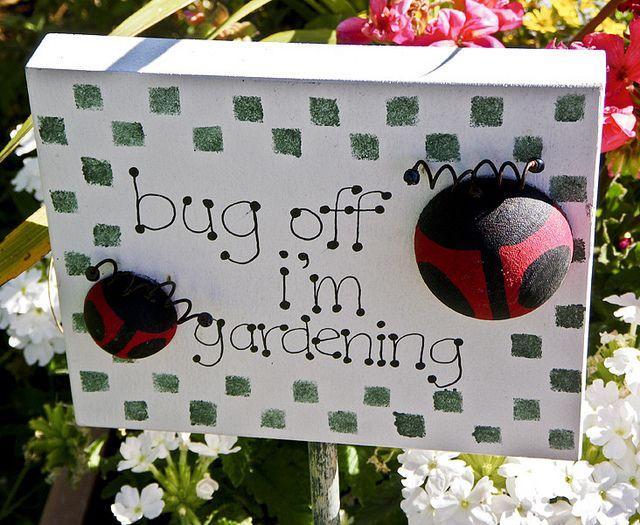 Garden Sign by ECF Calgary, via Flickr