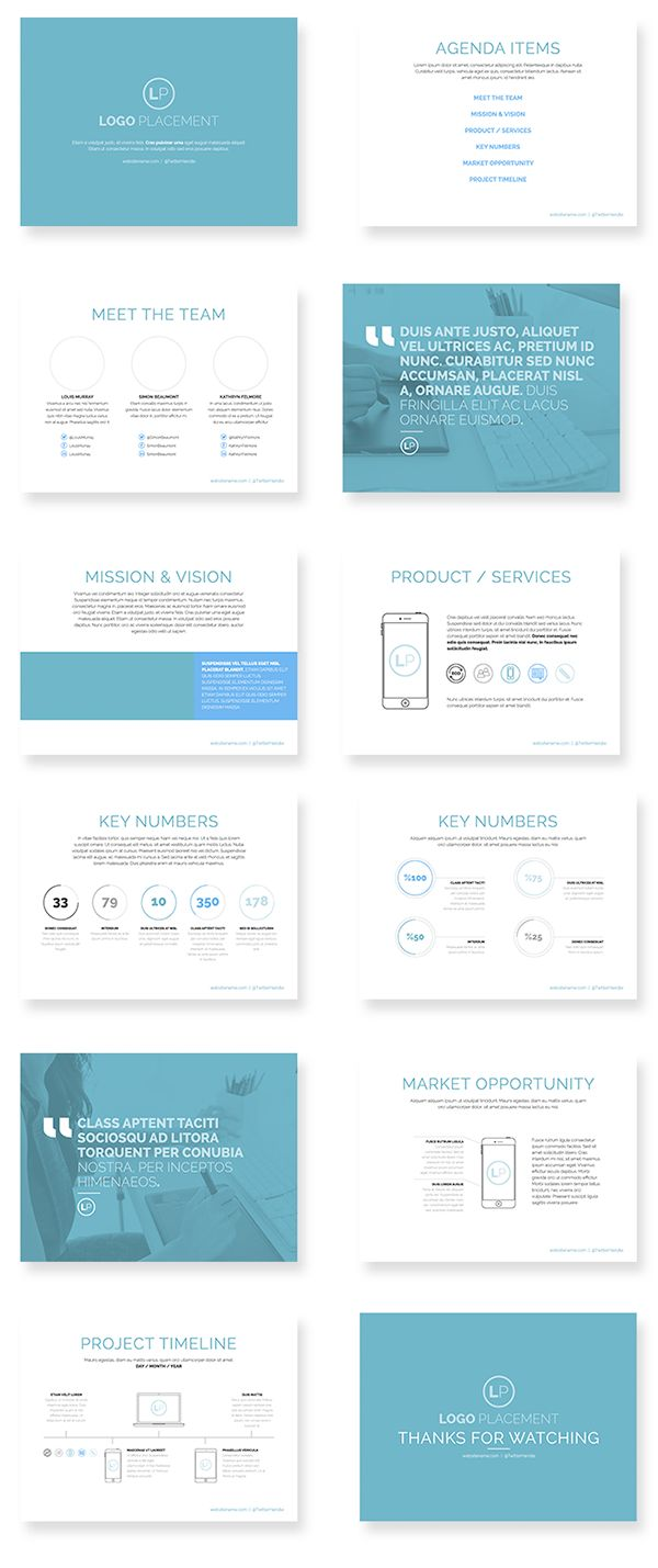 Pitch Deck Template on Behance