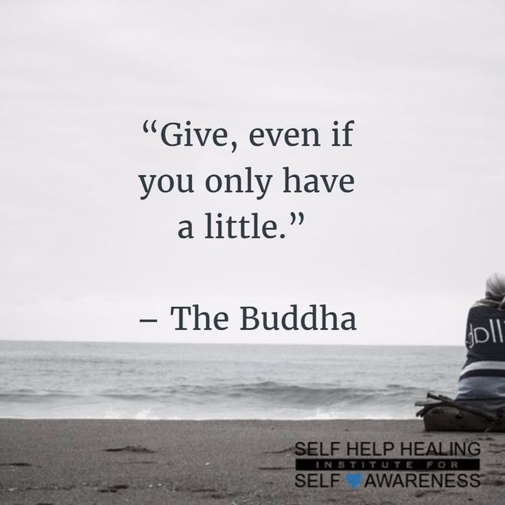 #Quotes by #Buddha - When we give without expecting anything in return, blessings we receive back. - http://www.selfhelphealing.co.uk