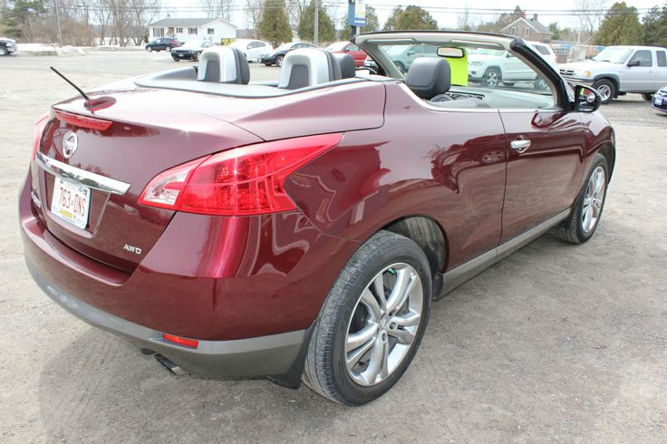 2011 Nissan Murano CrossCabriolet makes sense for anyone looking for a convertible with some real practicality. Spacious backseat; big trunk for a convertible; commanding driving position - fully loaded all-wheel-drive!