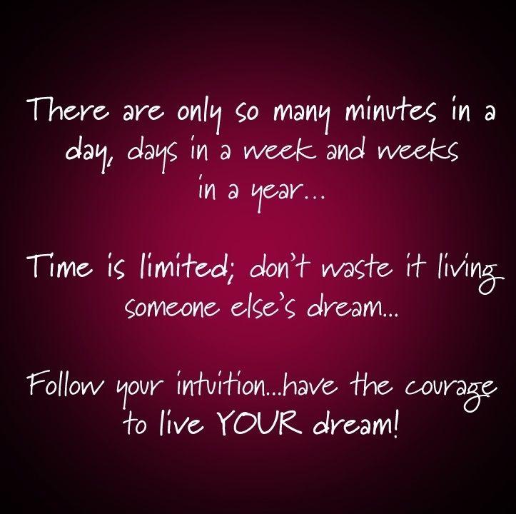 Living My Dream Quotes