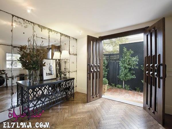 ديكورات مدخل البيت 2021 هي أحد الأمور التي تشغل بال الكثيرين فمدخل البيت هو العنوان والذي يعكس رقي البيت لضيوفك لهذا يجب الاهت Home Luxury Homes Entrance Decor
