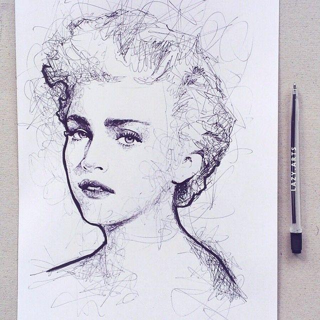Damals, als #madonna noch sehr heiß war! #Kunst #Illustration #Zeichnen #Zeichnen #Bild #Künstler #Skizze #Skizzenbuch #Papier #Schreibfeder #Kunst #Inst …
