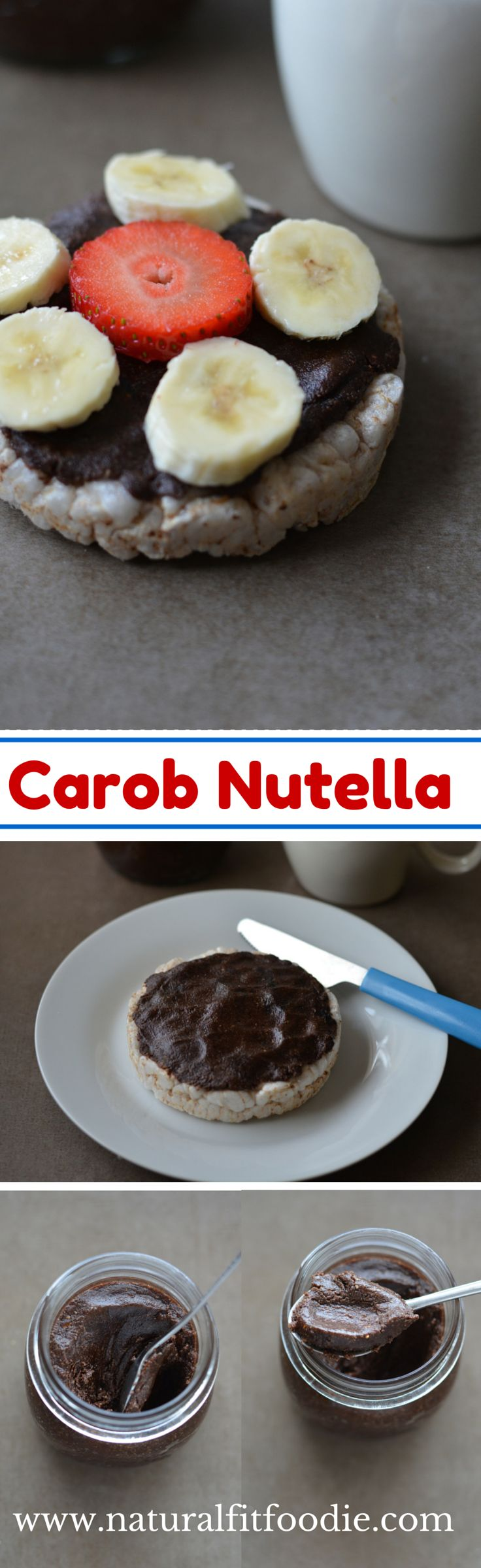Carob Nutella is a delicious and decadent hazelnut spread. A healthy spin on the traditional Nutella. It's Vegan, Paleo, dairy free and refined sugar-free.