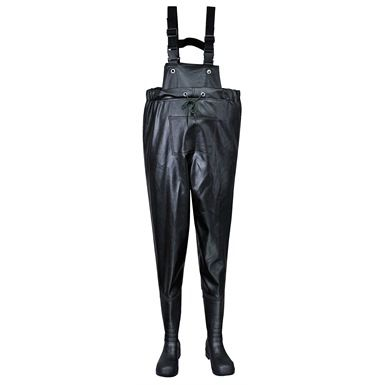 These great value Portwest Steelite Safety Chest Waders are ideal those who work, immersed in deep water that comes above the waist line. Ideal wader for rescue workers, fishing industries or recreational use.