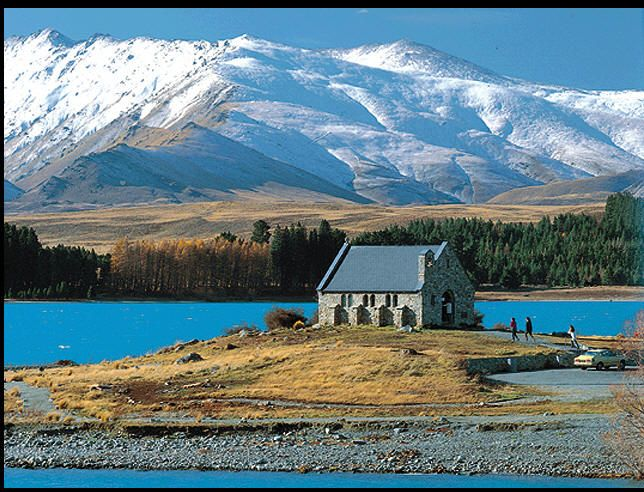 My favourite spot in the world so far! Lake Tekapo.