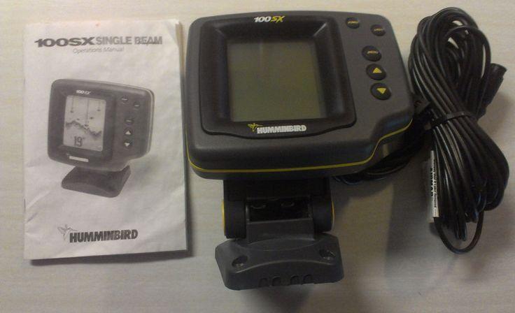 yellow humminbird wide 100sx portable fish finder #humminbird, Fish Finder