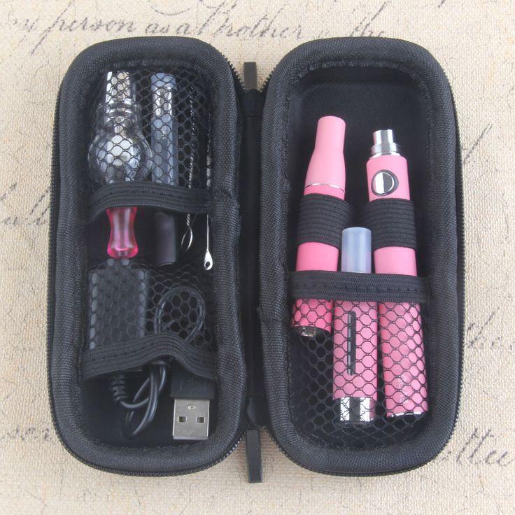 Yunkang EVOD 4 en 1 Vaporizador de Hierbas Cigarrillo Electrónico Kit Cremallera bolsa de Kit de Batería incorporada con atomizador Vape Pluma Vaporizador | 32819983486_pl