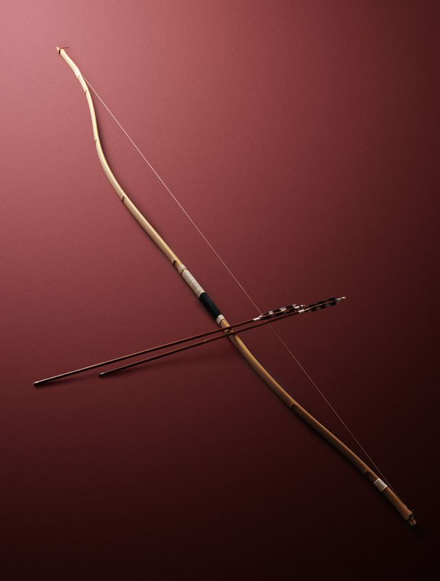 / Swifter than arrow from the Tartar's bow. __Puck, A Midsummer Night's Dream, Act III, Scene 2. [Credit - Martial art Japanese bow 日本を代表する小笠原流の御用弓師]