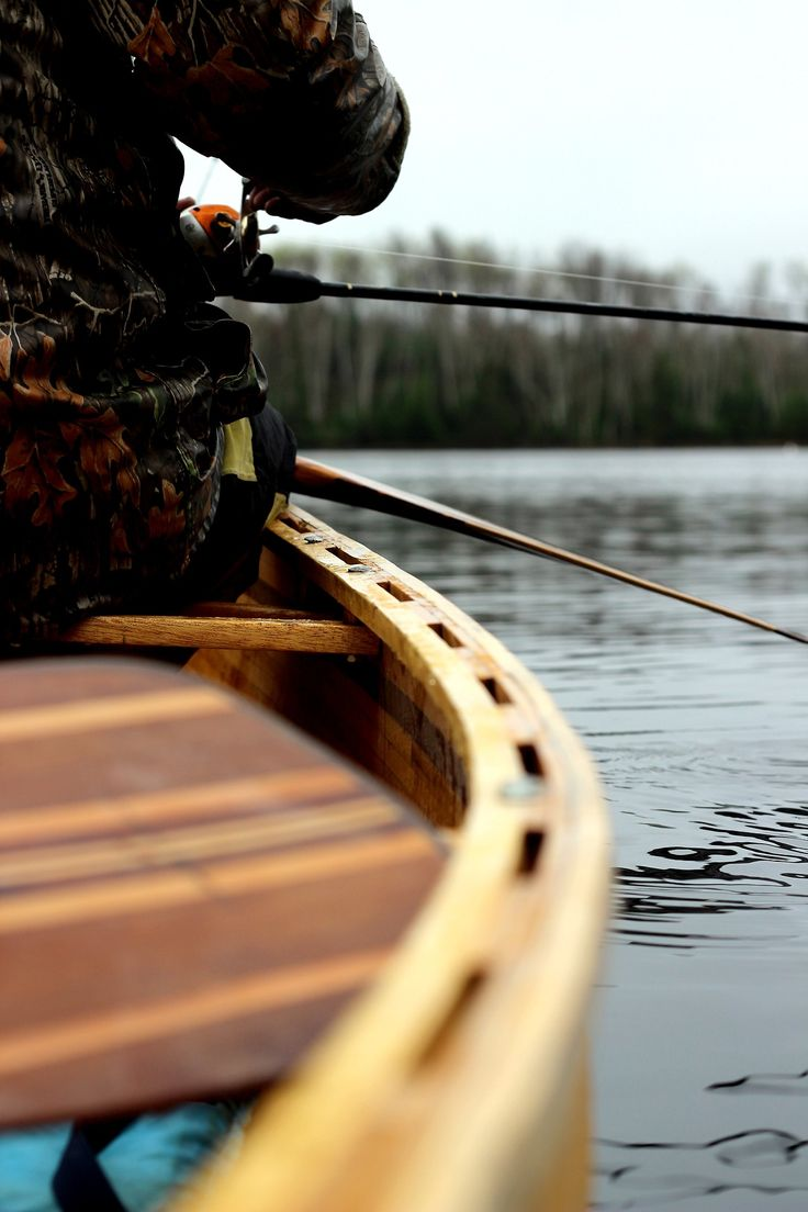 canoe x fishing
