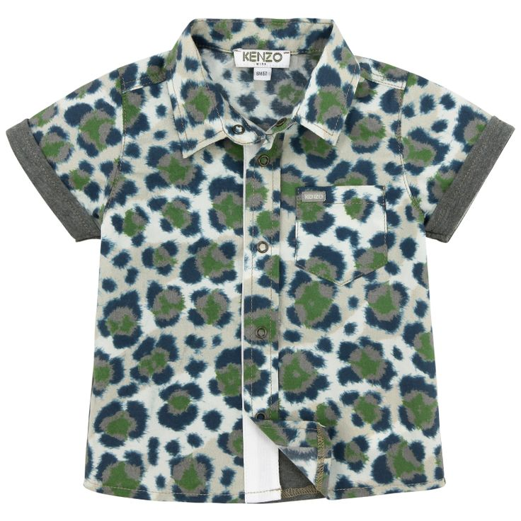 Mini-me printed shirt from Kenzo Kids - 43,00 €