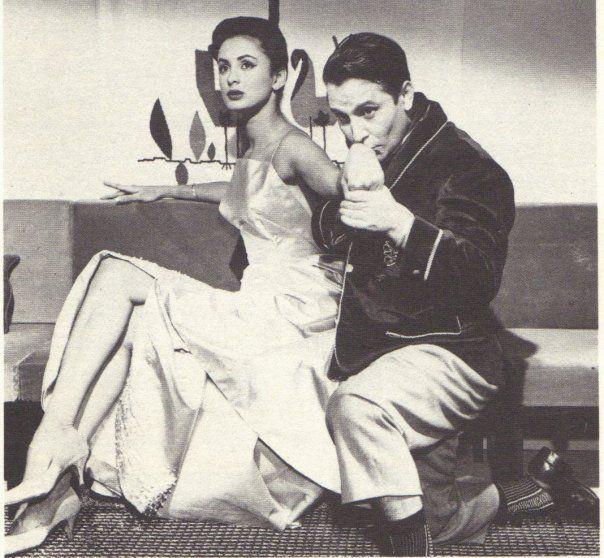 Susana Duijim y Amador Bendayán, actores venezolanos. Años '60