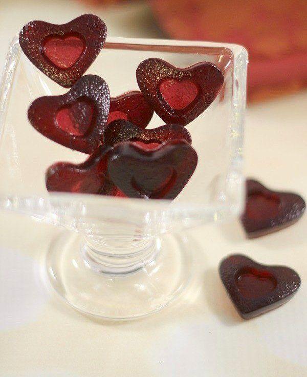 Kırmızı şaraptan şeker yapmaya ne dersiniz?