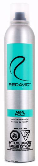 MAX HOLD: Max out your style | http://www.redavidhair.com/products/max-hold-spray/