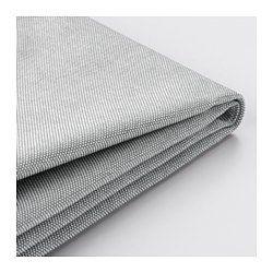 VILASUND, Funda sofá cama con chaiselongue, Orrsta gris claro