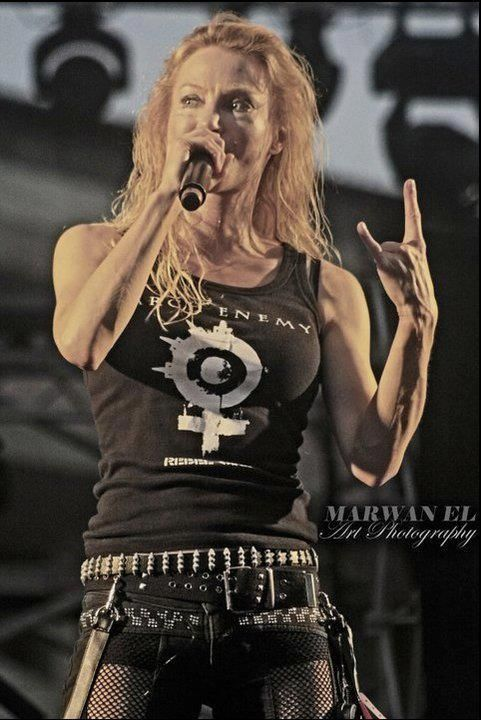 "22acacia-avenue: ""õ/ "" Arch Enemy: Angela Gossow"