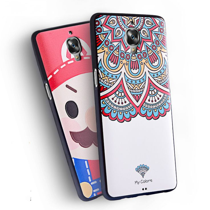 """Oneplus 3 phone case,3D Stereo Relief Painting Soft Silicon Back Cover Colorful Case For oneplus 3T 5.5""""inch Phone Bag Fundas #Affiliate"""