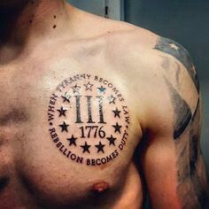 1776 tattoo