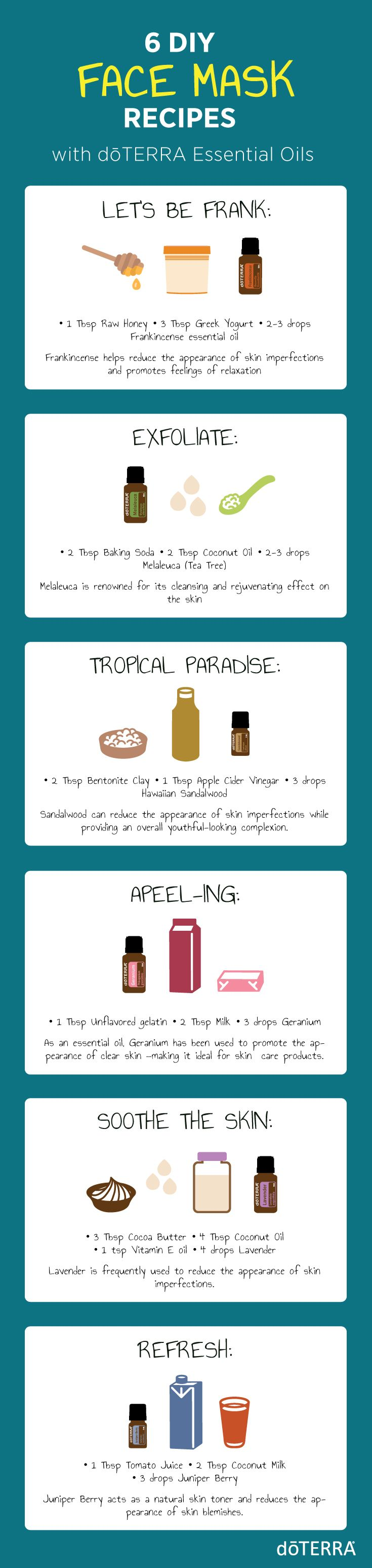 Are you ready for a girl's night? These DIY Natural Face Masks are perfect for a relaxing night in. Each different mask has amazing benefits that you'll want to get in on now!