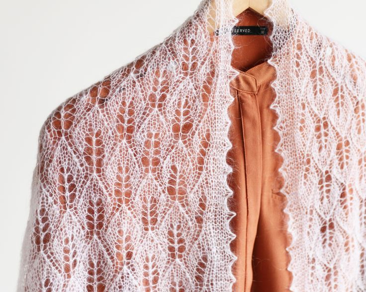 Lace Mohair Shawl  Estonian Lace Scarf