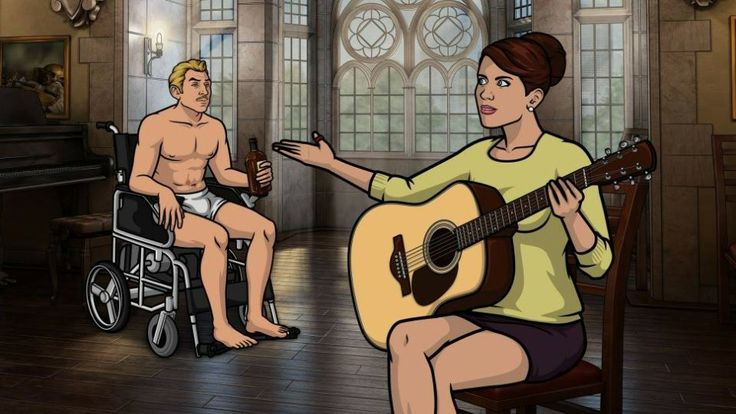 Loving the new season of Archer!