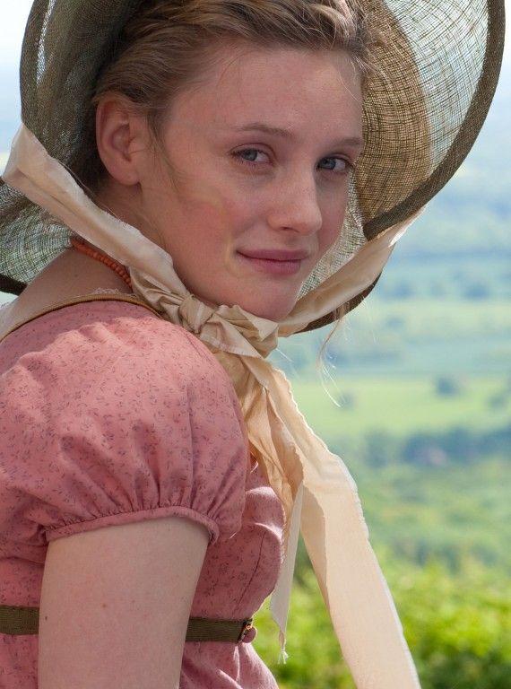 Romola Garai, Emma Woodhouse - Emma directed by Jim O'Hanlon (TV Mini-Series, 2009) #janeausten