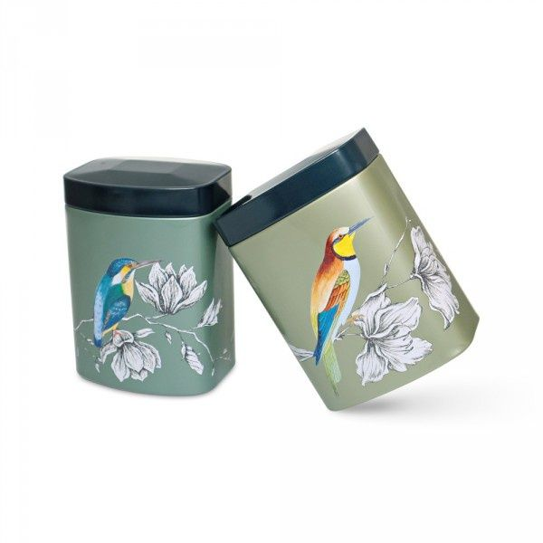 New caddies - buy Charme in one size but two designs.tea caddy online - Cup of Tea Ltd