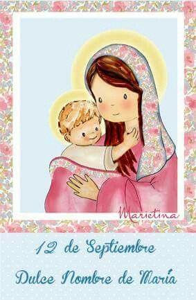 Holly Mary, Mother of God. Www.marietina.com
